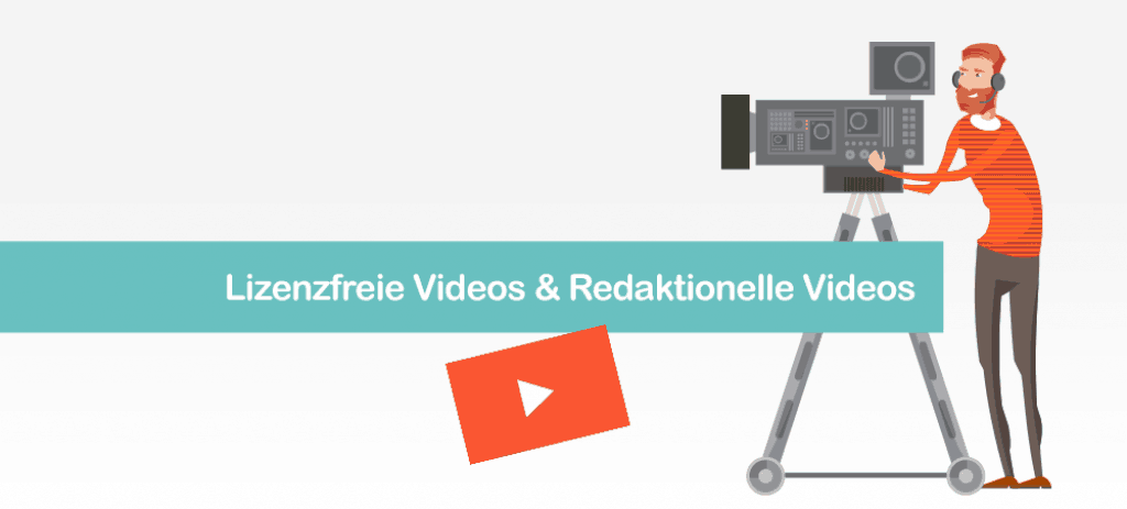 Royalty Free Videos und Redaktionelle Videos